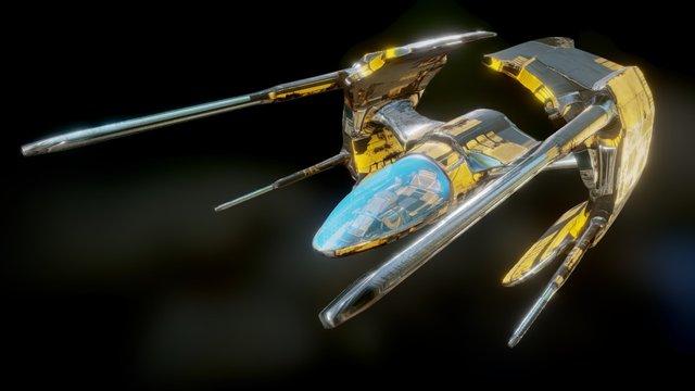 Starfighter 2.1 3D Model