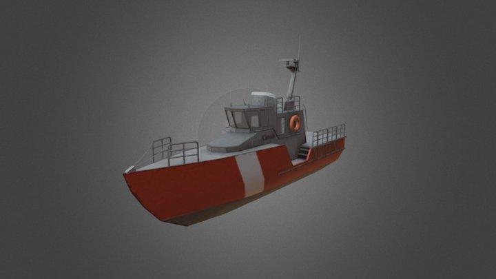CCGS VAKTA 3D Model