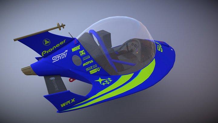Jetsons Subaru STI 3D Model