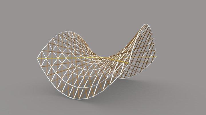 Hypar Approximately 3D Model