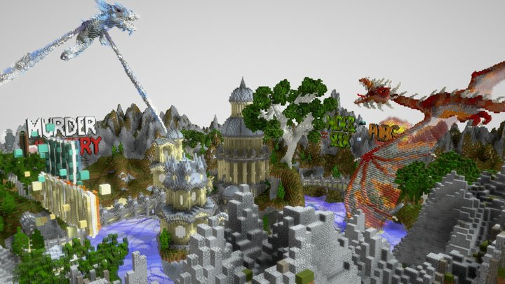 Dragon Hub 3D Model
