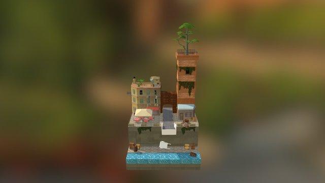 1DAE01_De_Beule_Sam_Cityscene 3D Model