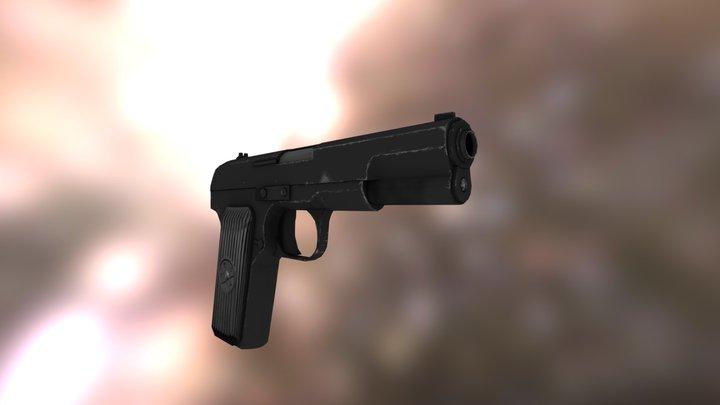 TT-33  3D Model