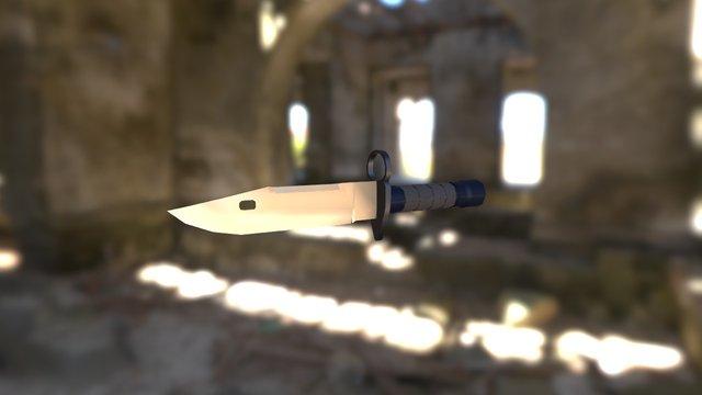 Knife M9 3D Model