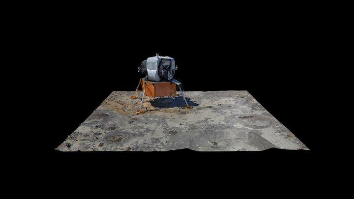 Lunar Lander 3D Model 3D Model