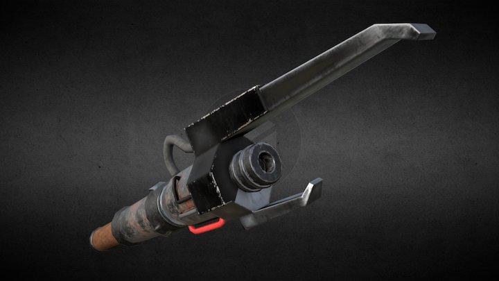 Namon-Dur Accar's Lightsaber 3D Model