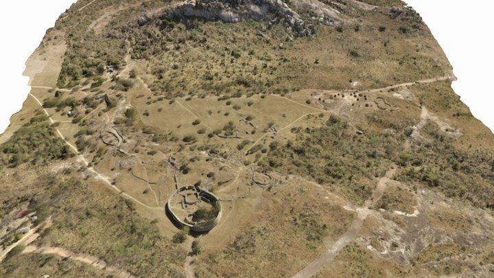 Great Zimbabwe Valley 3D Model