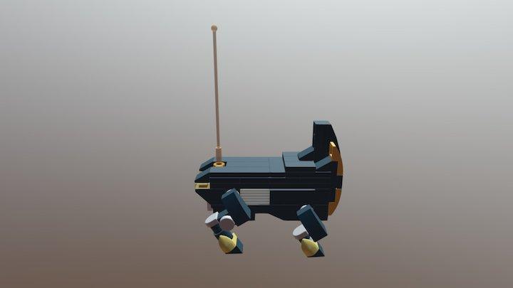 Combat Rhino 5 3D Model