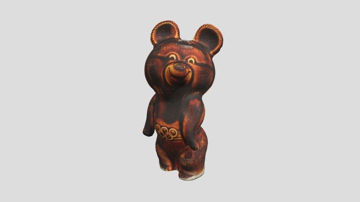 Misha the Bear 3D Model