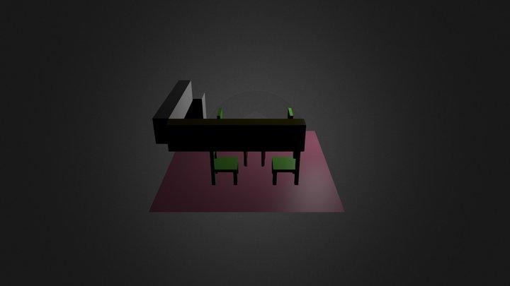 kitcenset 3D Model