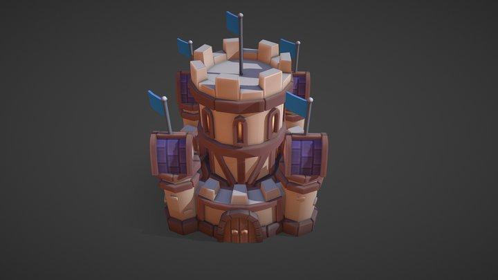 Human Castle 3D Model