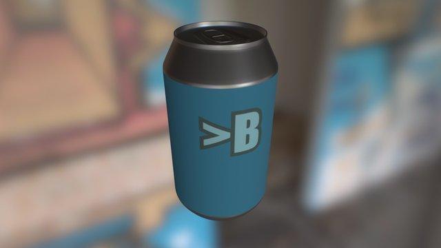 >B Can 3D Model