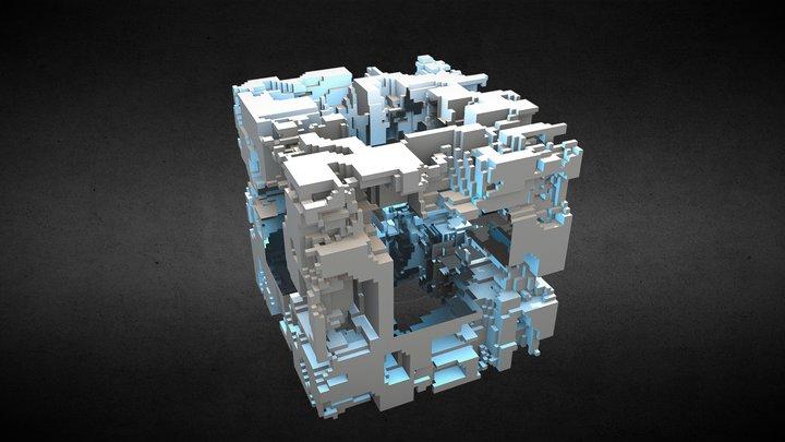 Tech Cube2 3D Model