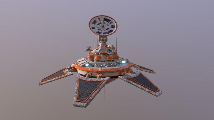 Transmitting Station 3D Model