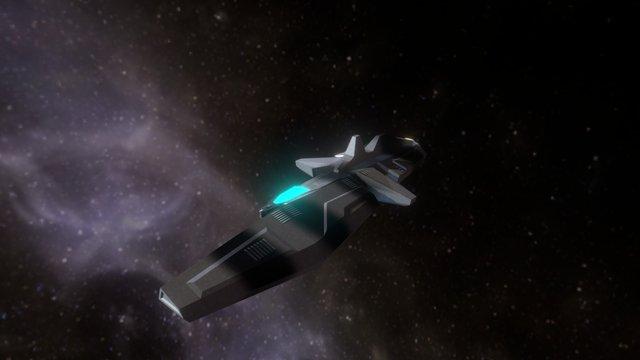 Vaygr Interceptor 3D Model