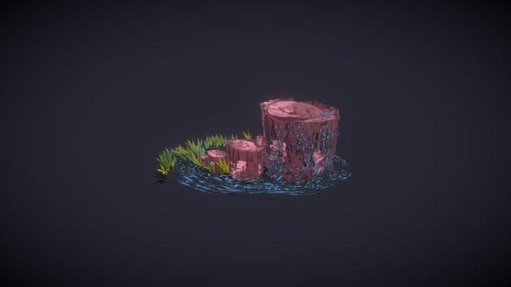 Tree of Water - sgASTset 3D Model