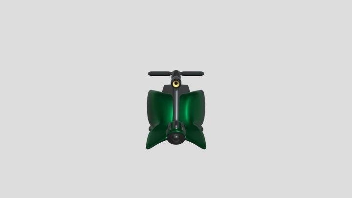 Hover Scifi Bike2 3D Model