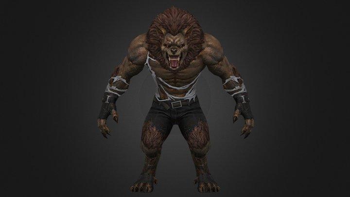 Ezel Wolf 3D Model