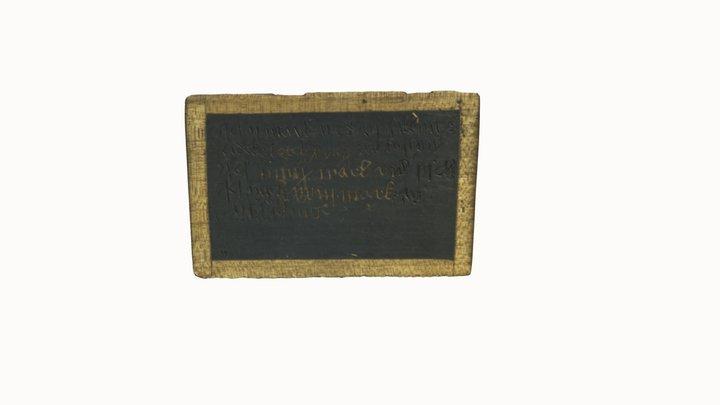 Wax plate 3D Model
