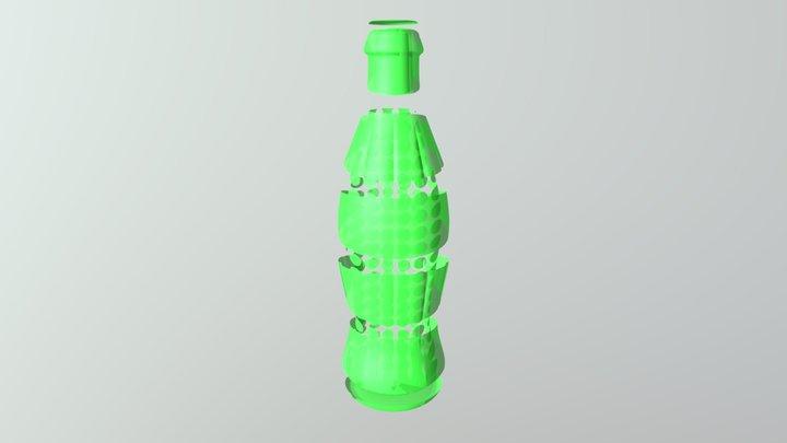 Printable September 2019 Calendar 3D Model