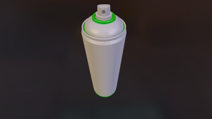 18oz Can Test 03 3D Model