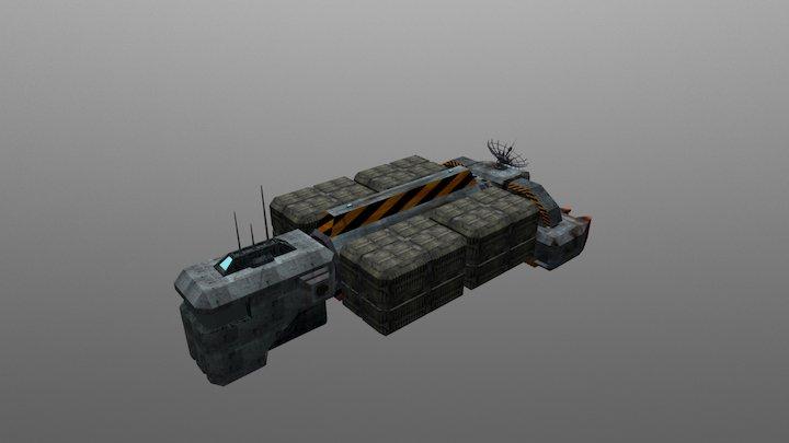 Phantom Hauler 3D Model