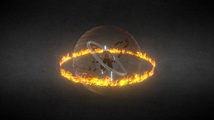 Aang the Avatar 3D Model