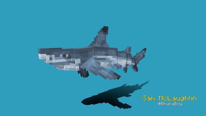 Reef Shark 3D Model