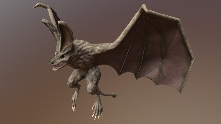 331Creature_Lehman_Jae 3D Model