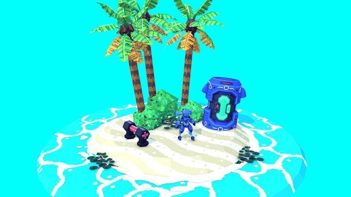 Technic Ranger: Beach 3D Model