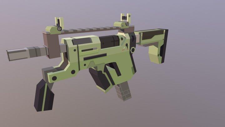 Dahl SMG [Unturned Version] 3D Model