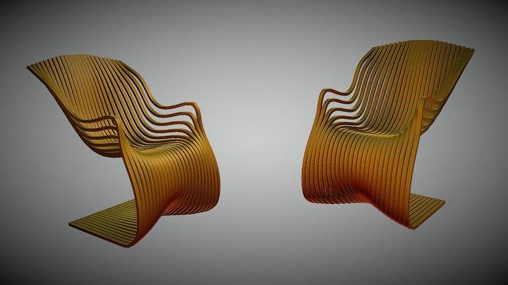 Pipo Chair в Blender 3D Model