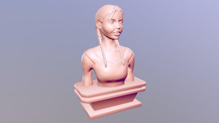 "Ajamsdraws' ""Oranges"" Sculpt 3D Model"