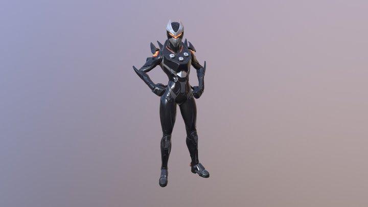 Oblivion (omega female skin) 3D Model