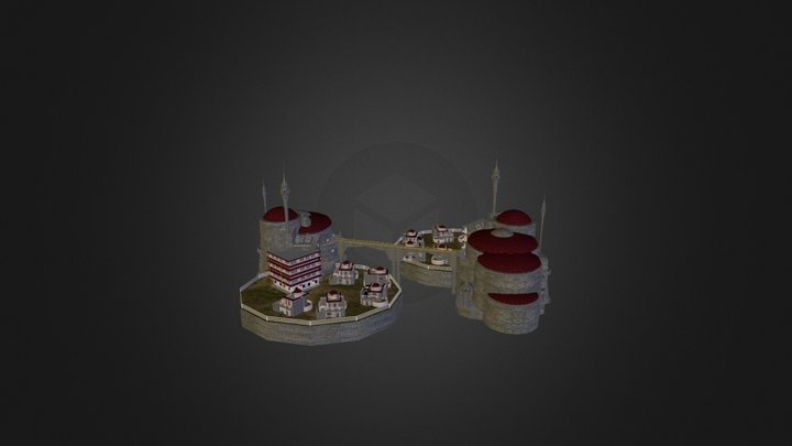 Colony Sector 3D Model