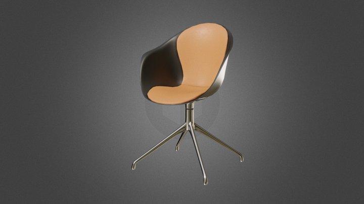 Adelaide Swivel Chair 3D Model