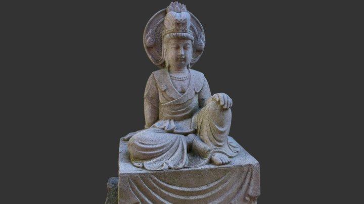 Statue 2, Nan Tien Temple 3D Model