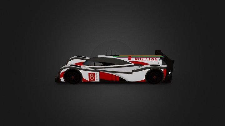 Le Mans Prototype 3D Model