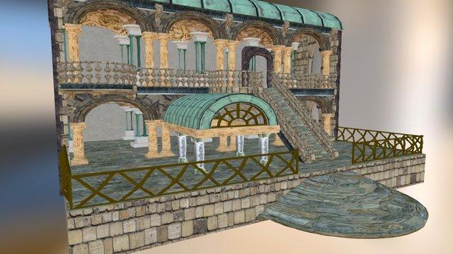 Zion building 3D Model