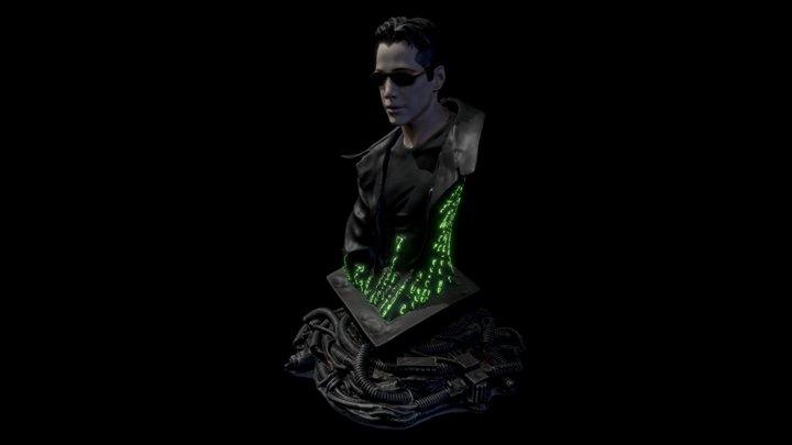 ultimate matrix collection neo statue 3D Model