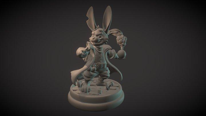 Hopping Mad Alchemist 3D Model