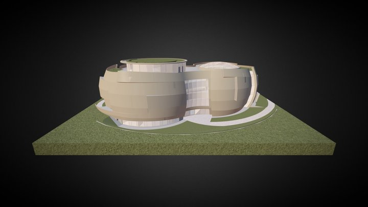 ESO Supernova Planetarium & Visitor Centre 3D Model