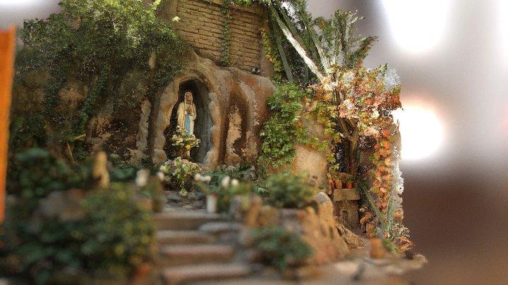 Gruta; Monasterio de las Carmelitas Descalzas 3D Model