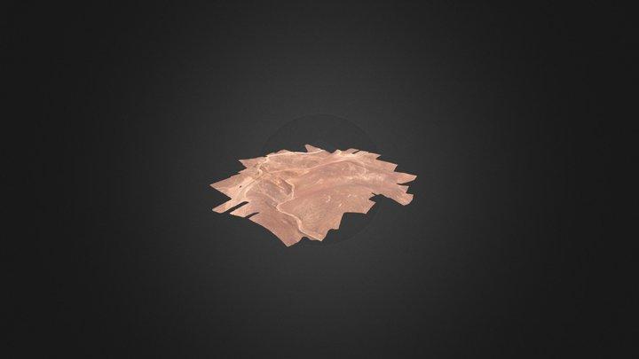 Intiwatana de Tabla tabla_simplified_3d_mesh 3D Model