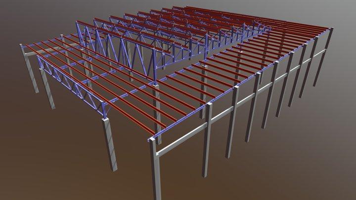 TERMINAL DE PASSAGEIRO 3D Model