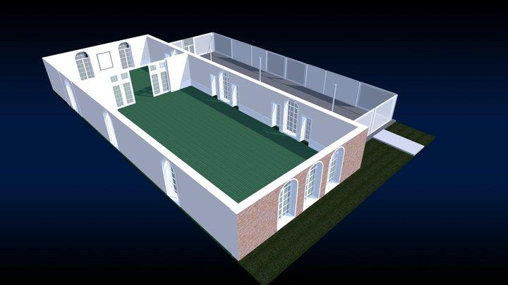 The Garden Terrace Room 3D Model