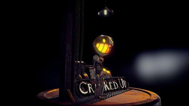 Cranked Up 3D Model