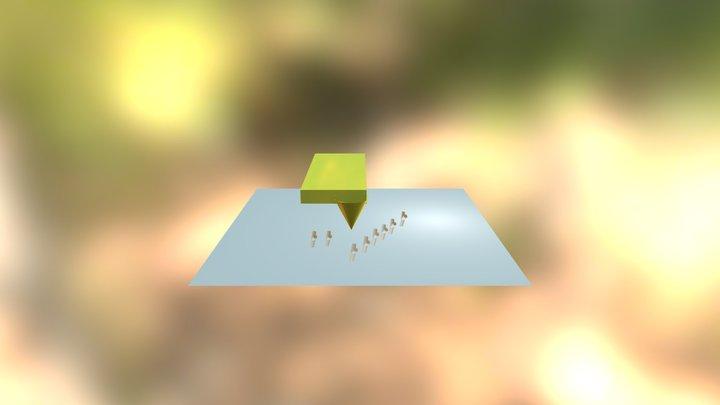 Afm Atomic Force Microscopy 3D Model