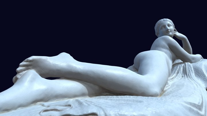 Naiad - Antonio Canova 3D Model