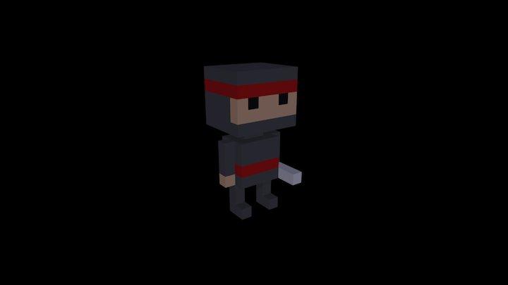 Nagato The Ninja 3D Model